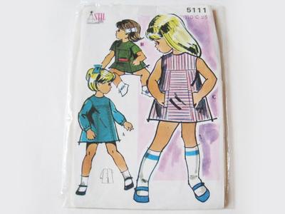 Mönster barn 60 - 70 tal