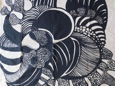 """Marimekko design  Hilkka Rahikainen """"Gargantua""""1966"""