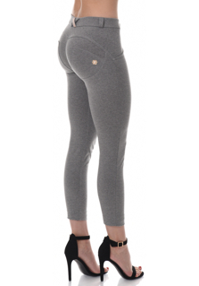 WR.UP® Shaping Effect - Mid Waist Ankle Length - Grey Melange(H4)