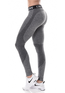 ICANIWILL Seamless Tights - Grey/Black/White