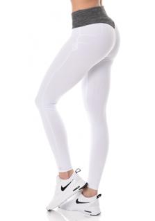Brazilian Push-up legging V.2 - White/Melange