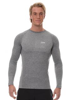 ICIW Seamless Long Sleeve -  Grey/White