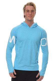 ICANIWILL Longsleeve Hoodie V.3 Men - Blue/White