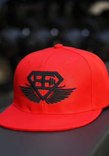 BE Snapback - Red/Black