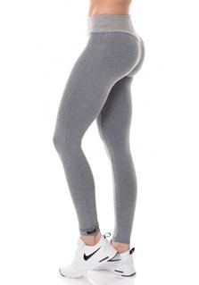 Brazilian Push-up legging V.2 - Mescla/Light Grey
