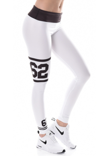 Jersey Tights - White