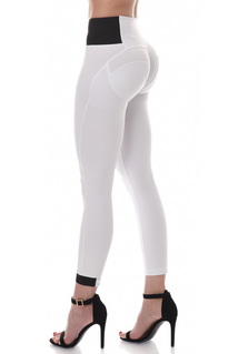 WR.UP® Compression Shaping Effect - High Waist Ankle Length - White(W)