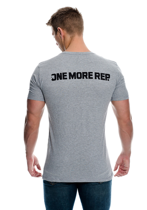 One More Rep T-Shirt - Grey