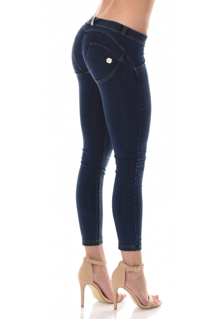 WR.UP® Denim Shaping Effect - Low Waist Ankle Length - Blue(J0/Y)