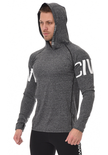 ICANIWILL Longsleeve Hoodie V.3 Men - Grey/White