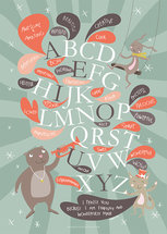 A3-poster: ABC - Awesome and amazing!