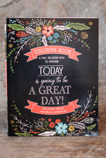 Coloring book: Today is going to be a great day!