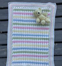 Filt till en nyfödd - virk-kit