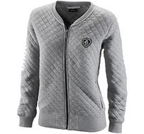 Jackie Quilted Zip Jacket