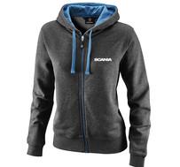 Basic zip hoodie