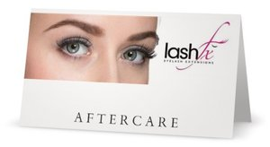Lash Fx After Care Card