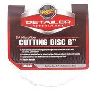 """Meguiars DMC6 DA Microfiber Cutting Disc 6"""" 150mm 2-Pack"""