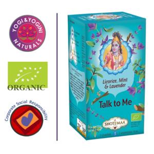 Talk to Me - Lavender, Licorice & Mint Tea - EKO