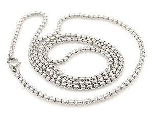Halskedjor i Rostfritt stål  - lank1
