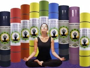 Yogamatta - Chakra Färg - Grön