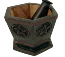 Pentagram Mortar & Pestle