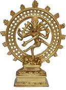 Nataraja – The Lord of Dance - mässing staty