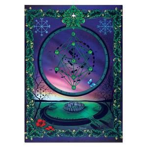Dubbla vykort - The Great Rune