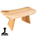 Meditationspall - ergonomisk form