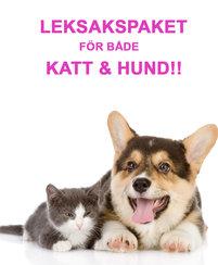 Katt & Hundleksaks paket!