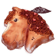 Hästtårta 20 bitar