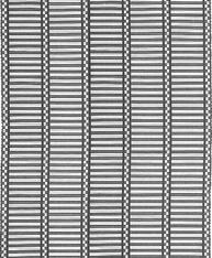 Ripsmatta matta Osvald svart vit Nyblom Kollén 2 / 3 meter