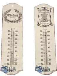 Termometer fransk 2 varianter shabby chic lantlig stil