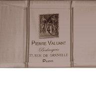 Hissgardin Pierre linnebeige shabby chic lantlig stil fransk lantstil