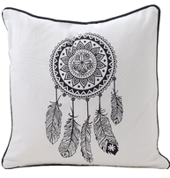 Dream catcher orient kuddfodral shabby chic lantlig stil