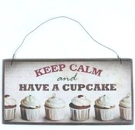 Träskylt Cupcake