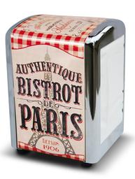 Servettställ retro dispenser Bistrot de Paris Fransk lantstil