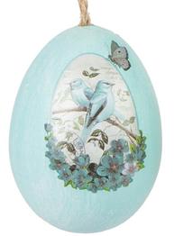 Ägg påskägg ljusblå shabby chic lantlig stil