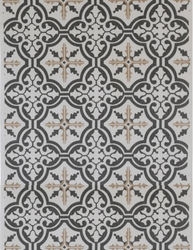 Löpare Mosaik Antik shabby chic lantlig stil