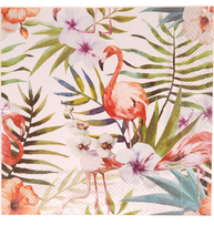Servetter Rosa flamingos  romantisk  fransk lantstil shabby chic lantlig stil