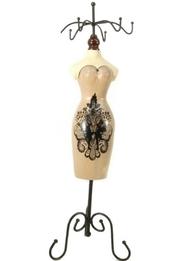 Smyckeshållare provdocka shabby chic lantlig stil
