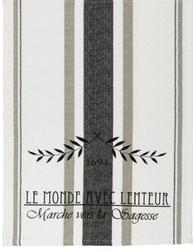Löpare duk mjölsäckstryck fransk lantstil shabby chic lantlig stil