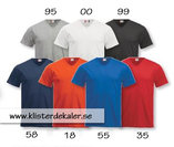 V-ringad T-shirt, Fashion T unisex