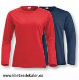 Långärmad T-shirt, Dam & Herr/Unisex, flera färgval.