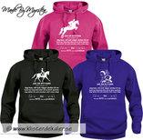 Basic Hoody Icelandic horse rider