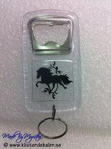 Nyckelring-Kapsylöppnare Islandshäst