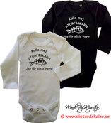 Baby body långärmad. STORFISKARN