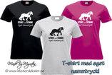 T-shirt Tinker/Irish Cob, stolt och stark Your name print