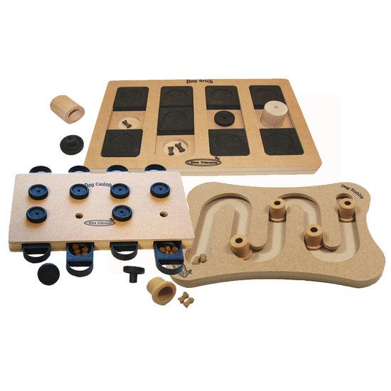 3 IQ Activación juguetes, madera. Grado de dificultad 2-3, advanced. Eco-Friendly material
