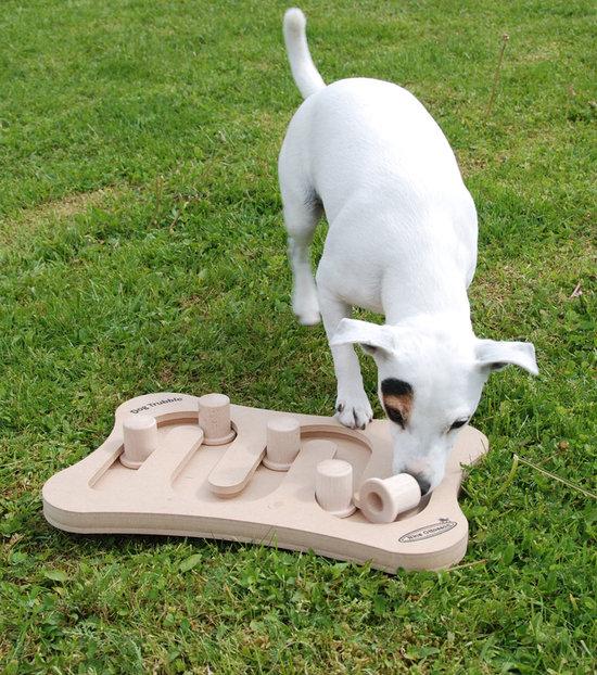 DogTrubble, legno. Grado di difficoltá 2-3. Natural, Eco-Friendly material