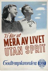 Affisch - Vi får ut mera av livet